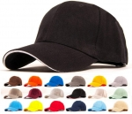 Middle weight 6 Panel Cotton Baseball cap with 10k embroidery